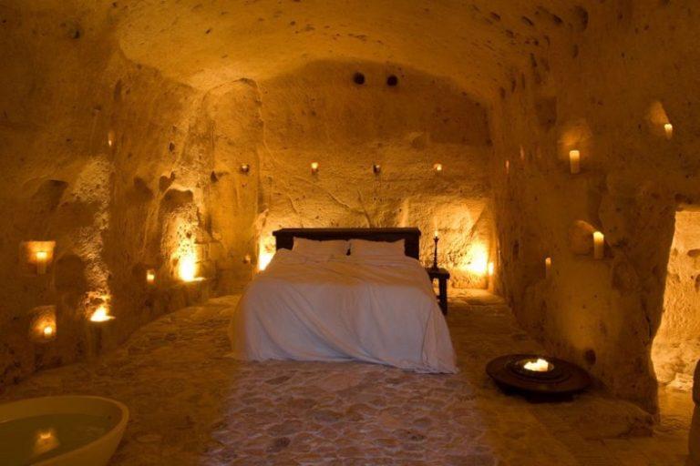 Hotel particolari unusual hotels italia Sextantio Le Grotte Della Civita